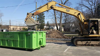 Multiple dumpster sizes ready to rent in Edison, NJ
