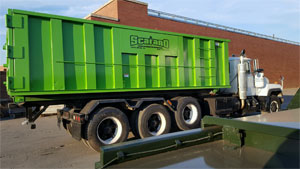 Rent a dumpster for junk removal in Plainfield, Bridgewater, and beyond.