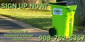 Curbside and Backyard Pickup service!